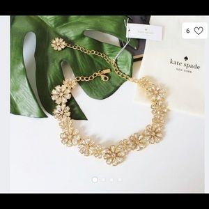 Kate Spade clear as crystal necklace
